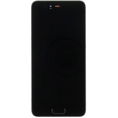 Huawei P10 LCD Display con Frame Originale Nero/Blu