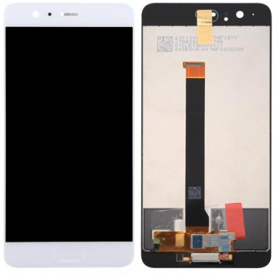 Huawei Originale P10Plus LCD + Touch Bianco - Silver - Verde