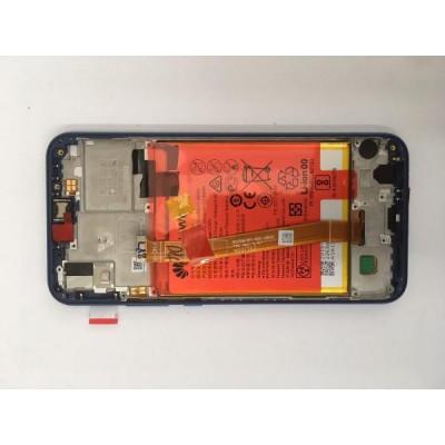 Lcd Huawei P20 Lite Originale Service Pack 02351VUV Blu