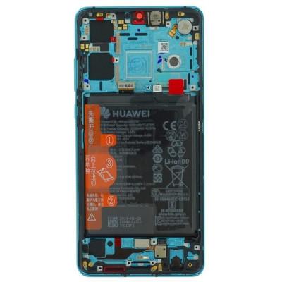 Lcd per Huawei P30 02352NLL Service Pack Aurora blue