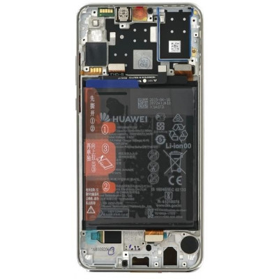 Lcd Huawei per P30 Lite Service Pack 02352RQC Pearl white