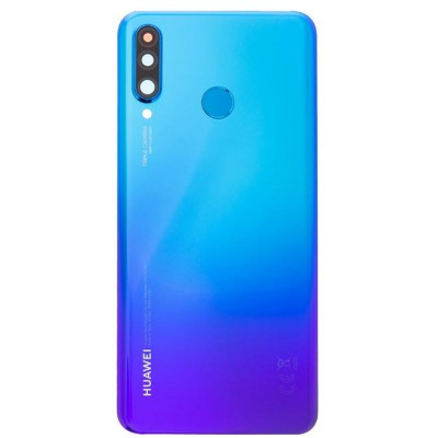 Cover posteriore per Huawei P30 Lite Peacock Blue S. Pack