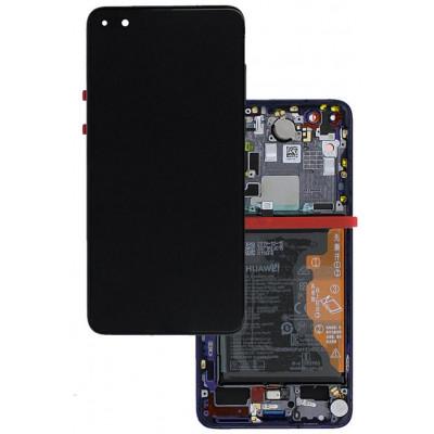 Huawei P40 Pro LCD ELS-NX9 ELS-N09 Midnight Black S. Pack