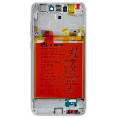 Lcd Huawei P9 & P8 Lite 2017 Service P con Batteria Bianco
