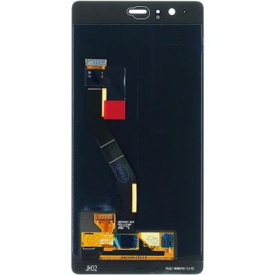 LCD + Touch + Vetro per Huawei P9 Plus Nero