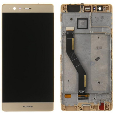 Lcd + Touch con Frame per Huawei P9 PLUS Gold