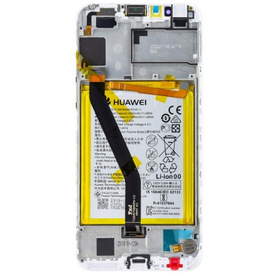 Lcd per Huawei Y6 2018 Display + Touch Bianco (Service Pack)
