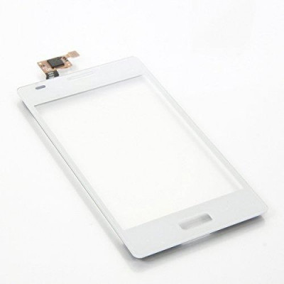 Vetro Touch Screen per LG E610 Optimus L5 Bianco