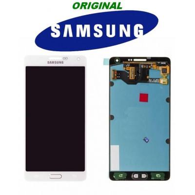 LCD-TOUCH BIANCO PER GALAXY A7 SM-A700F WHITE GH97-16922A