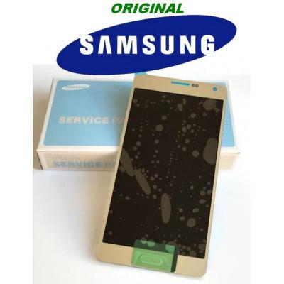 LCD - TOUCH PER GALAXY A7 SM-A700F ORO GH97-16922F