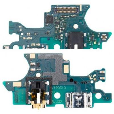 Circuito carica e dati Samsung A7 2018 Service P.GH96-12081A