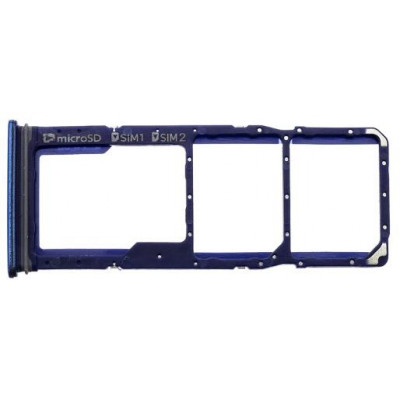 Samsung A920 Galaxy A9 2018 SIM Holder Blu (Service Pack)