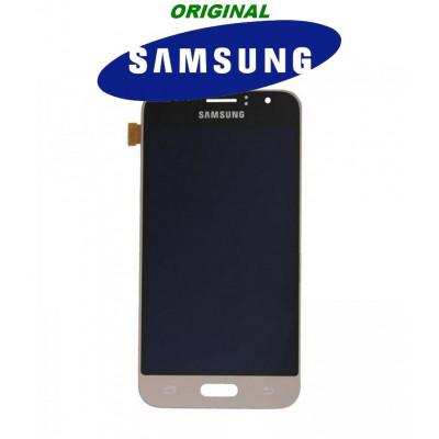 LCD ORIGINALE SAMSUNG J1 2016 GOLD SMJ120F GH9718224B
