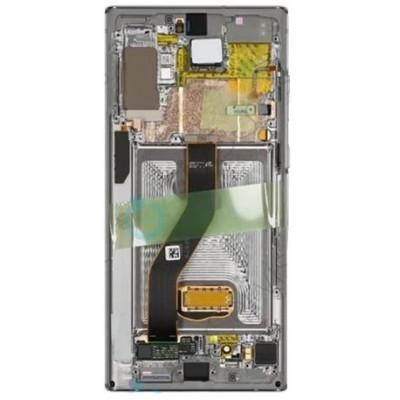 Lcd Originale Samsung Note 10Plus SM-N975F GH82-20838B Bianc