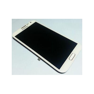 LCD+TOUCH ORIGINALE GALAXY NOTE2 LTE N7105 BIANCO GH9714114A
