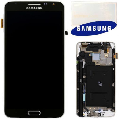 LCD+TOUCH ORIGINALE GALAXY NOTE 3 NEO N7505 NERO GH9715540A