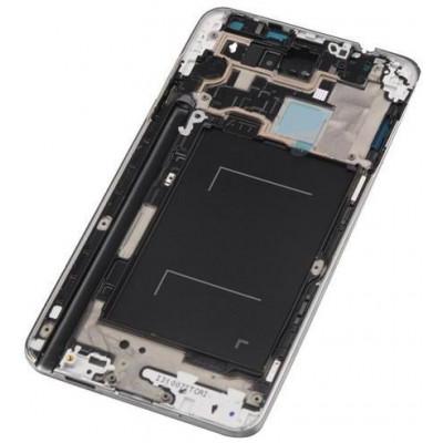 Frame Anteriore per Samsung Note 3 N900 Grigio