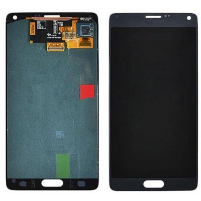 LCD+TOUCH ORIGINALE FULL GALAXY NOTE4 N91X NERO GH97-16565B