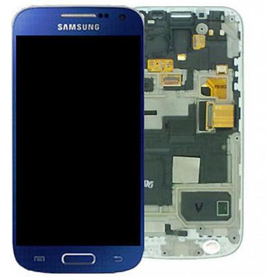 Lcd GH97-14766C ORIGINALE Samsung Galaxy S4 Mini BLU Artic
