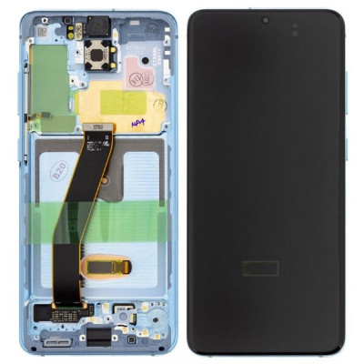 LCD Samsung G980 Galaxy S20 Service P. GH82-22123D C. Blu