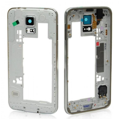 Frame Intermedio per Samsung Galaxy S5 Bordo Argento