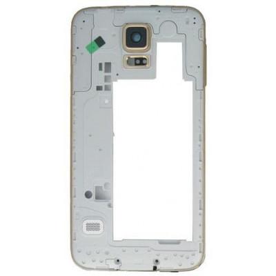Frame Intermedio per Samsung Galaxy S5 Bordo Oro