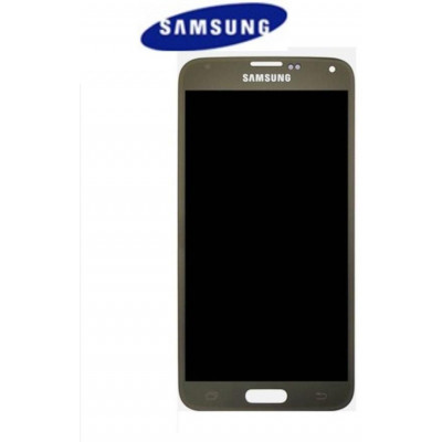 LCD + TOUCH ORIGINALE SAMSUNG GALAXY S5 MINI GOLD GH9716147D
