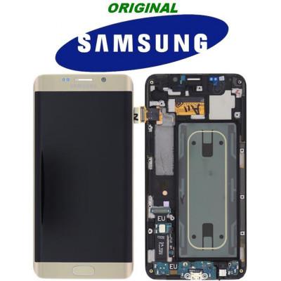 LCD TOUCH PER GALAXY S6 EDGE + SM-G928F GOLD GH97-17819A