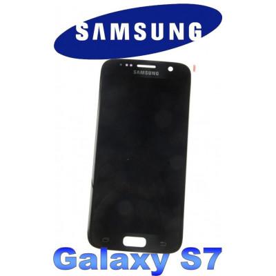 LCD + TOUCH PER GALAXY S7 ORIGINALE NERO GH97-18523A
