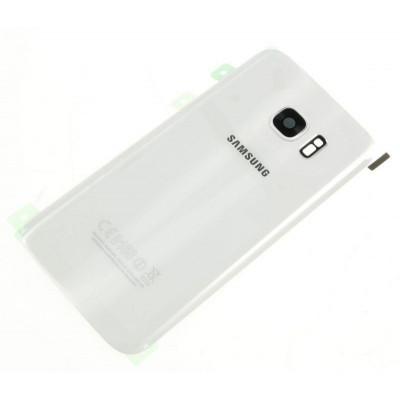 Cover Posteriore Originale Per Samsung Galaxy S7 Bianca
