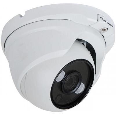 Telecamera Dome 3 Megapixel, Analogiche AHD/TVI, 3.6mm
