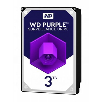 Western Digital HDD int.3TB WD30PURZ, PURPLE