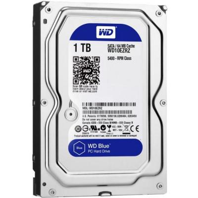 Western Digital HDD int.1TB WD10EZRZ, BLUE