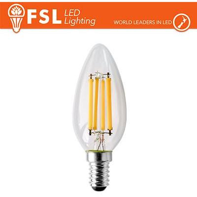 Lampada Filamento Oliva - 4W 2700K E14 470LM