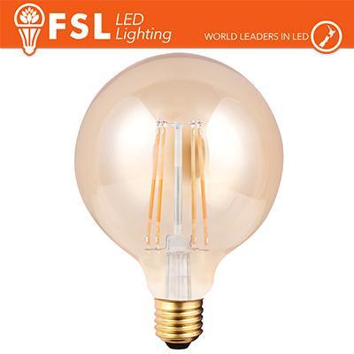 Lampada Globo Filamento Ambra Ø12,5cm - 6W 2200K E27 650LM
