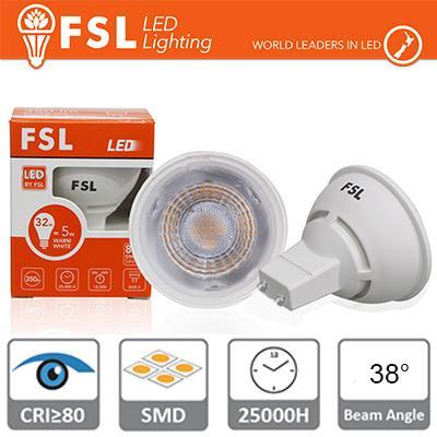 GU10 Lampadina LED - 6W 3000K 500LM 38° CRI80