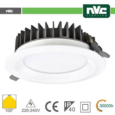 Downlight LED IP40 20W 3000K 1530LM 100º FORO:150mm