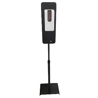 SET Dispenser automatico bianco da 1L + Piantana in metallo