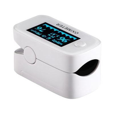 Pulsossimetro Da dito Digitale display OLED 1,3'' - CON PILE