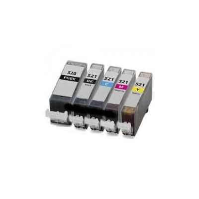 Nero 10ml con chip per Canon Ip3600/IP4600/MP540/MP620/630
