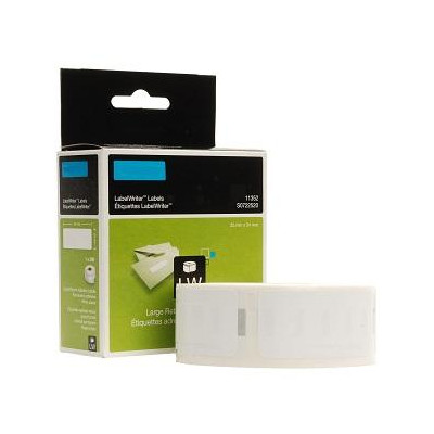 White 54mmX25mm 500psc for DYMO Labelwriter 400-S0722520