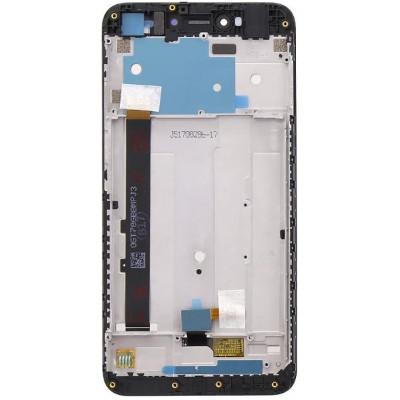 Lcd con Frame per Xiaomi Redmi Note 5A Nero Service Pack
