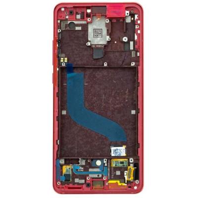 Display con Frame per Xiaomi Mi9T/Mi9T Pro Rosso