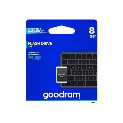 Pendrive Goodram UPI2 8GB USB MINI 2.0 blk - retail blister