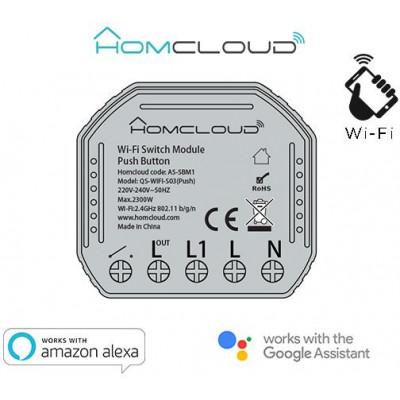 Modulo Pulsante Intelligente Wi-Fi da incasso