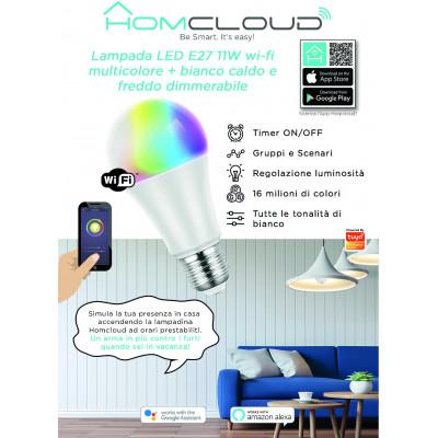 Pannello Informativo da banco in cartoncino Lampadina wi-fi