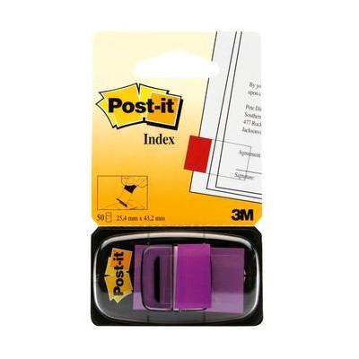 Post-it® Index Medium Viola/Porpora dispenser da 50 segnapag