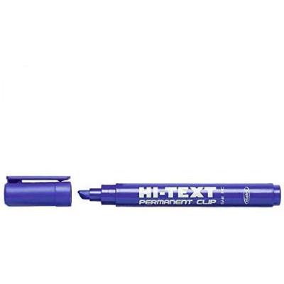 Indelebile punta scalpello 2-6mm - 12 pezzi - BLU