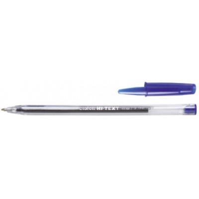 HI-TEXT 661 penna sfera punta media 1 mm Colore BLU 50pz
