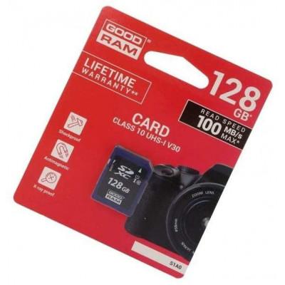 Scheda SD 128GB SDXC Goodram - blister retail